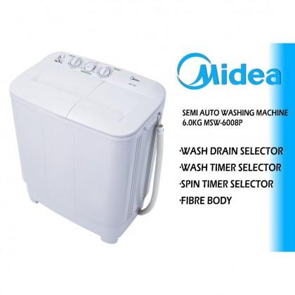 MIDEA 6.0kg Semi Auto Washing Machine